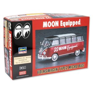 Photo3: 1/24 Model Car MOON Equipped VW Type2 Micro Bus