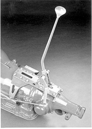 Photo1: LOKAR TH400 AT shifter 23 inch