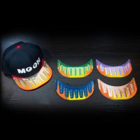 Louver for MOONEYES Cap (Scallop Type)