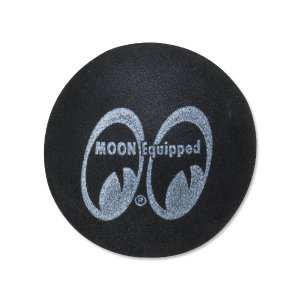 Photo1: MOON Equipped Antenna Topper Black