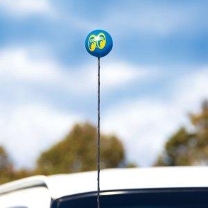 Photo1: Royal Blue MOON Antenna Ball