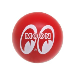 Photo2: Red MOON Antenna Ball (Squeeze Type)