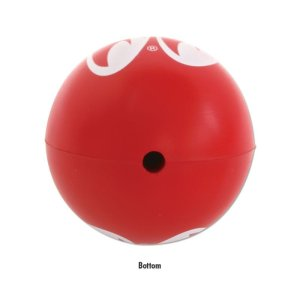 Photo3: Red MOON Antenna Ball (Squeeze Type)