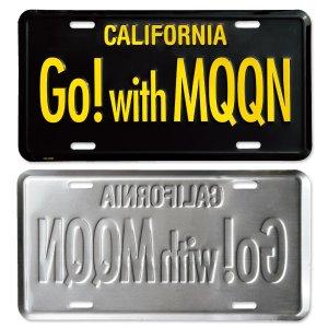 Photo2: MOONEYES California Steel License Plates Go! with MQQN