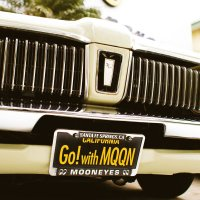 MOONEYES California Steel License Plates Go! with MQQN