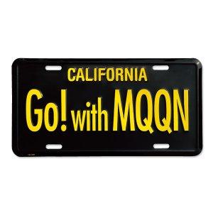 Photo1: MOONEYES California Steel License Plates Go! with MQQN