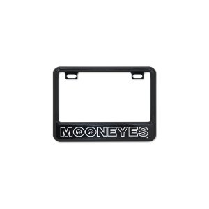Photo2: 【50cc〜125cc】MOONEYES License Plate Frame for Small Motorcycle Black