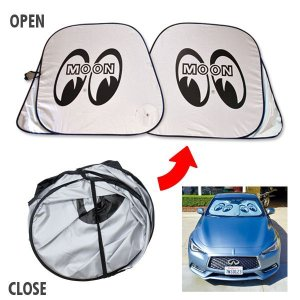 Photo1: MOON Car Sun Shade L size