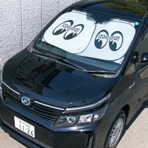 Photo2: MOON Car Sun Shade L size