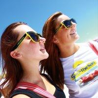 MOON Two Tone Sunglasses