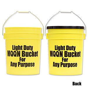 Photo3: MOON Bucket (5 Gallons) Yellow