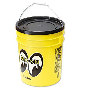 Photo4: MOON Bucket (5 Gallons) Yellow