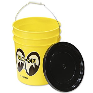 Photo5: MOON Bucket (5 Gallons) Yellow