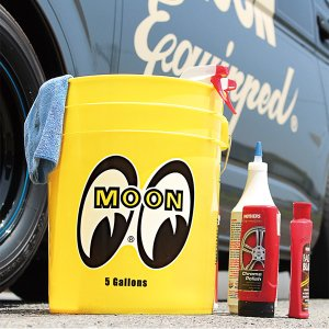 Photo1: MOON Bucket (5 Gallons) Yellow