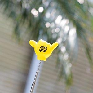 """Photo1: MOON """"Shaka"""" Antenna Topper"""