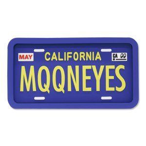 Photo2: MOONEYES California License Plate Rubber Tray