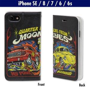 Photo1: MOON Drag Racing iPhone SE(2020Model),  iPhone8, iPhone7 & iPhone6/6s Hard Case