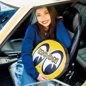 Photo1: MOON Eyeball Cushion