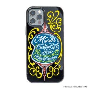 Photo2: MOON Custom Cycle Shop Helmet iPhone 12 mini Hard Case