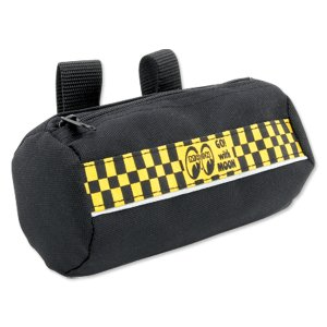 Photo3: MOON Checker Doggy Pouch