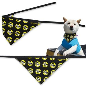 Photo2: MOON Eyeball Doggy Bib