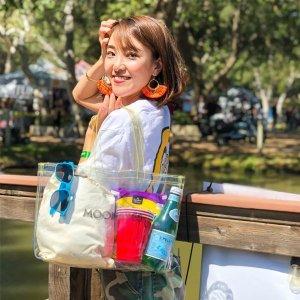 Photo1: MOONEYES Clear Tote Bag