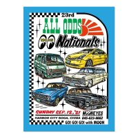 23rd ALL ODDS Nationals 2021 Poster