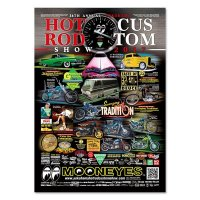 26th Annual Yokohama Hot Rod Custom Show 2017 Poster