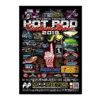 28th Annual Yokohama Hot Rod Custom Show 2019 Poster