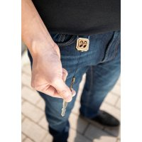 MOON Equipped Square Reel Key Holder