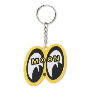 Photo2: MOON Yellow Eyeshape Key Ring