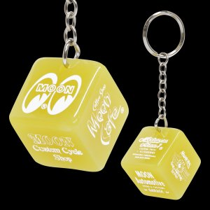 Photo2: MOON Dice Key Ring