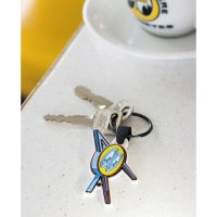 MOON Cafe Neon Rubber Key Ring