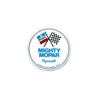 HOT ROD Sticker MIGHTY MOPAR Plymouth Parts Sticker
