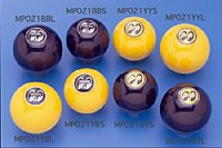 MOONEYES Eyeball Shift Knob Yellow Shift L Yellow Emblem
