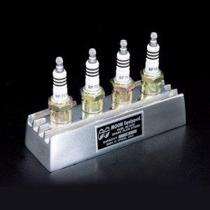 Photo2: MOON Fuel Block Spark Plug Stand