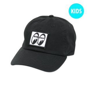 Photo1: Kids MOON Equipped 6 Panel Cap