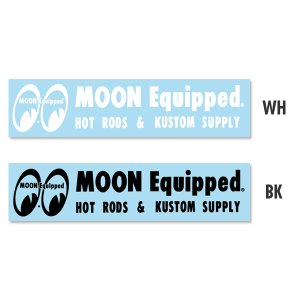 Photo1: MOON Equipped Logo Sticker