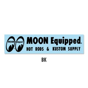Photo3: MOON Equipped Logo Sticker