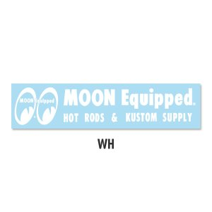Photo2: MOON Equipped Logo Sticker