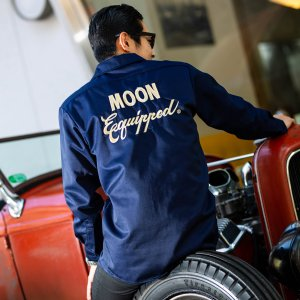 Photo1: 【30%OFF】MOON Equipped Long Sleeve Work Shirt