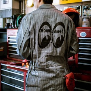 Photo1: MOON Equipped Coverall FS (Long Sleeve)