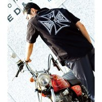 MOON Equipped Iron Cross Work Shirt