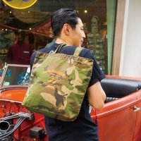 Speed Shop Camouflage Tote Bag