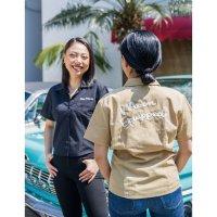 MOON Equipped Ladies Work Shirt (Short)