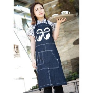 Photo1: MOON Equipped Canvas Apron