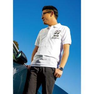 Photo2: MOON Equipped Polo Shirt