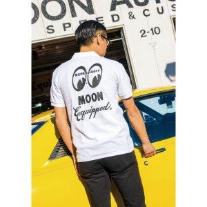Photo1: MOON Equipped Polo Shirt