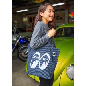 Photo1: MOON Equipped Tote Bag