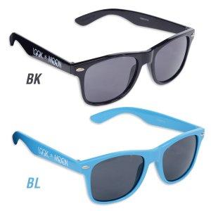 Photo2: MOON Equipped Retro Sunglasses